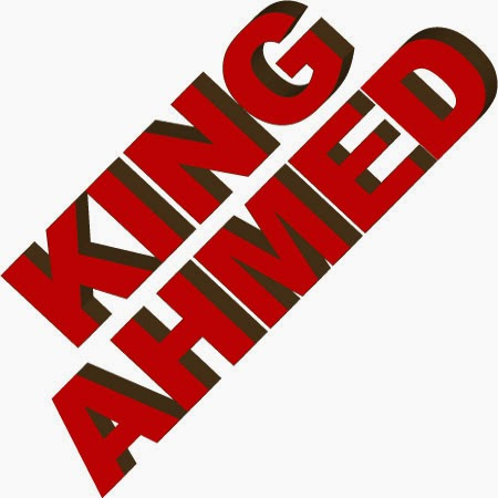 3d name logos ahmed king 3d name logo