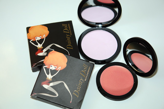 Dainty Doll blushers: Orange County Girl and Hippy Shake beauty, blusher, Dainty Doll, review,