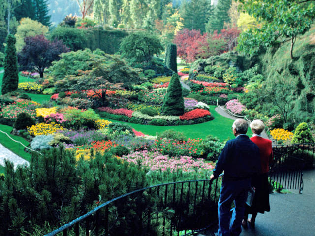 Butchart Gardens British Columbia Canada This Is