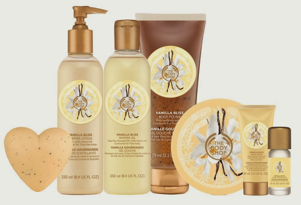 vanilla bliss the body shop collection