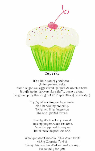 Love Cake Recipe Poem