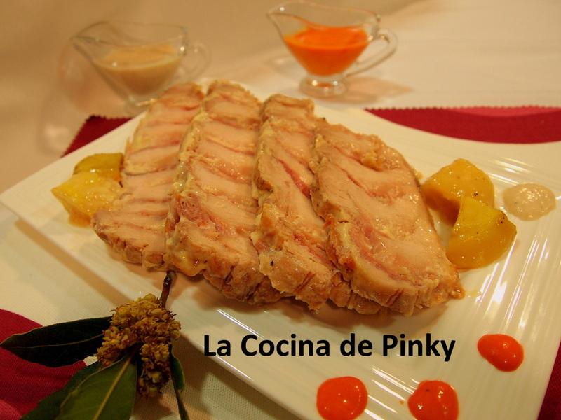 LOMO DE CERDO RELLENO CON DOS SALSAS  Lomo+de+cerdo+relleno+1