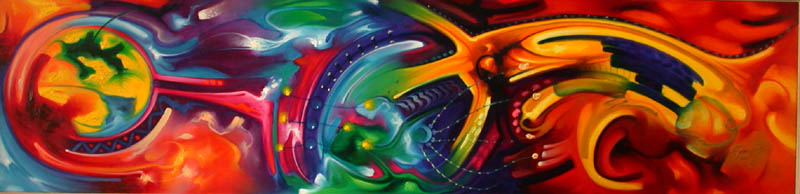 Club del Arte Latino: Cuadros abstractos