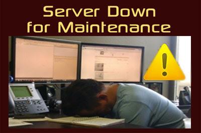 server lokal down