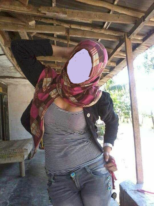 fesyen tudung nampak buah dada