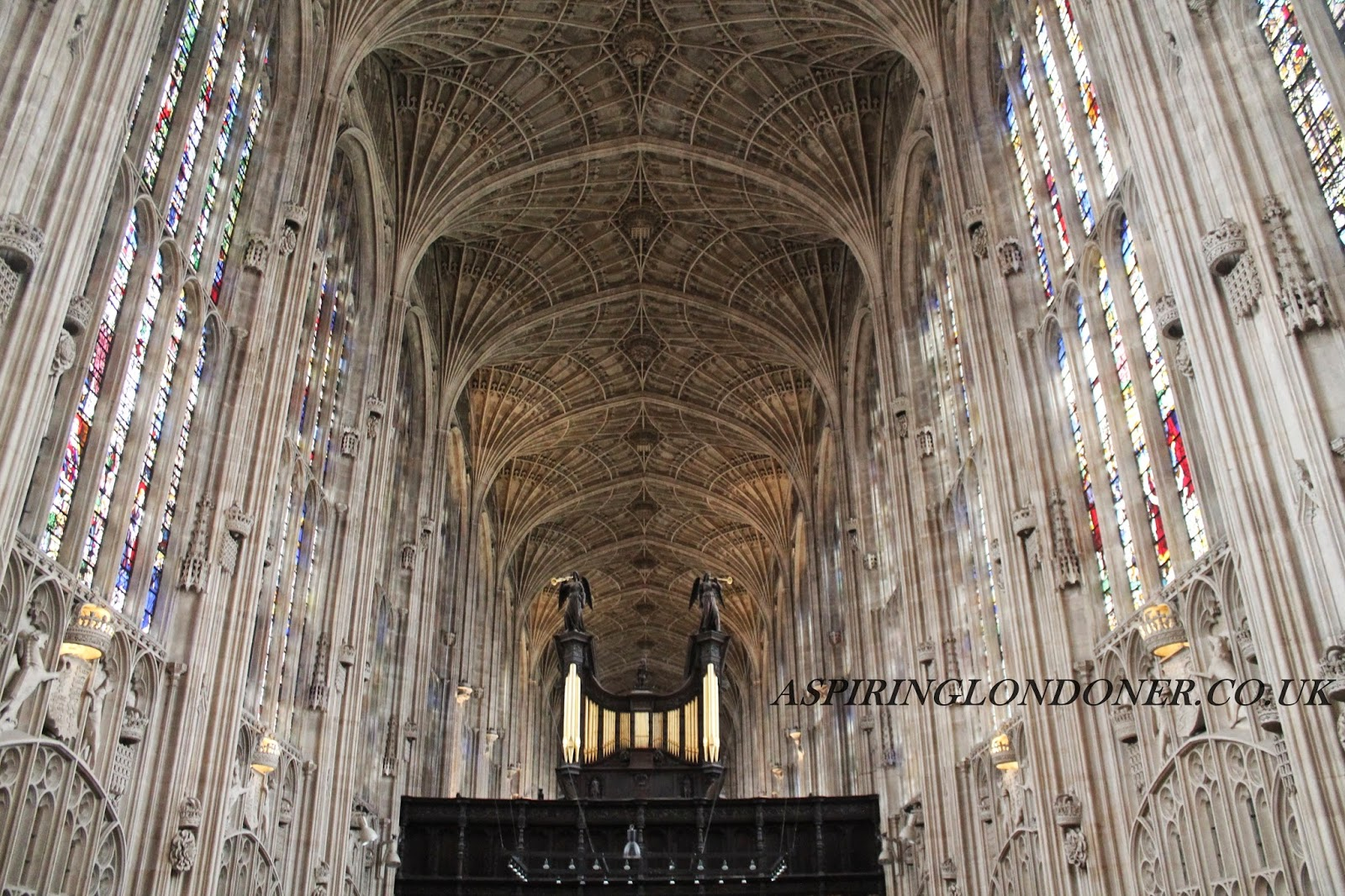 King's College Chapel, University of Cambridge - Aspiring Londoner
