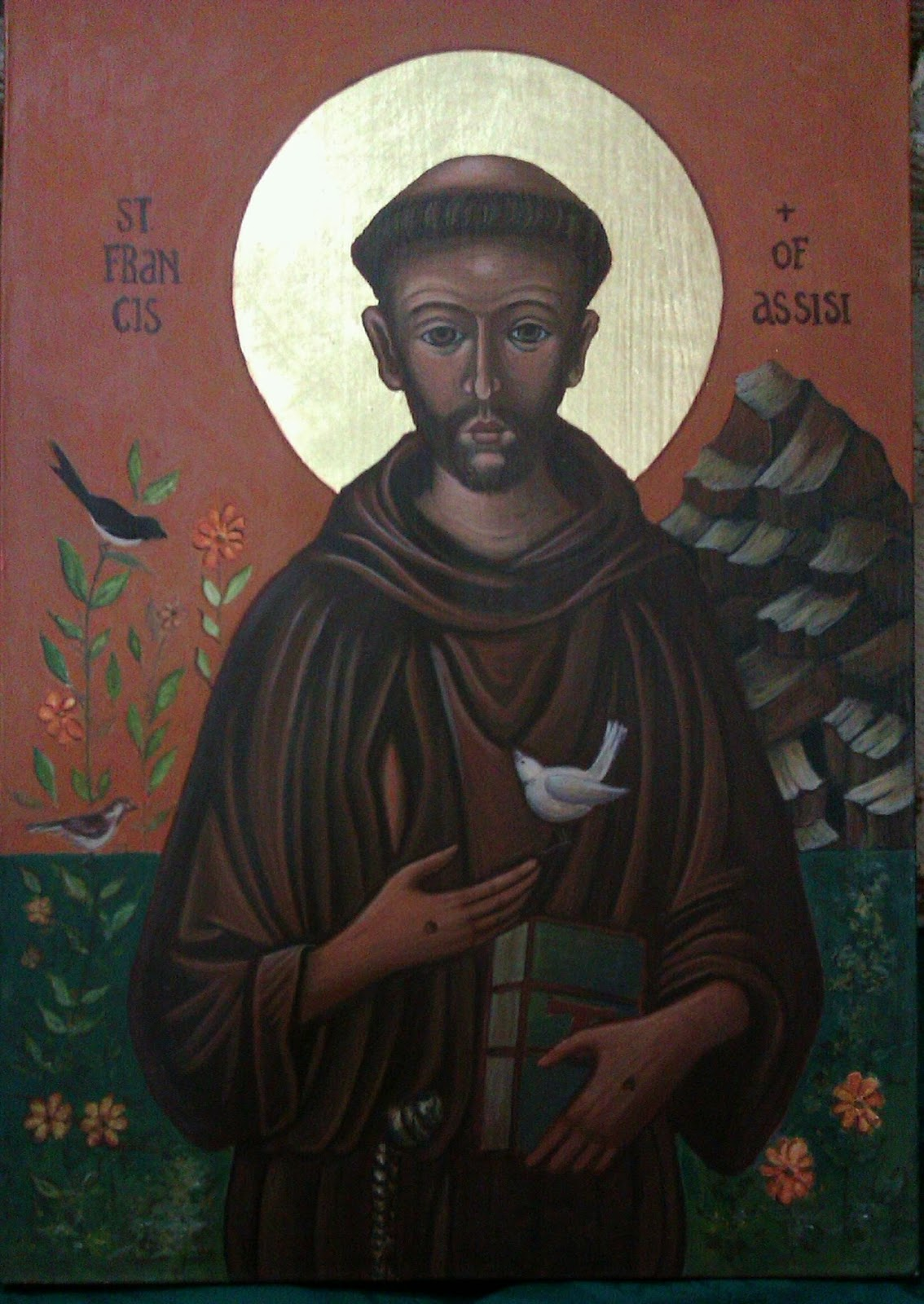 road to rome st francis of assisi icon