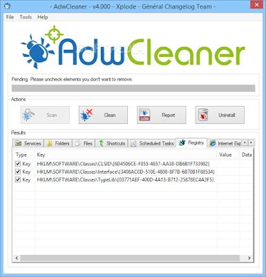 تحميل برنامج تنظيف الكمبيوتر adwcleaner 2016