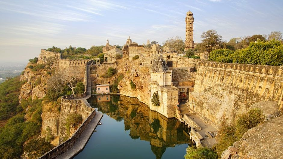 Chittorgarh fort and Tower of victory