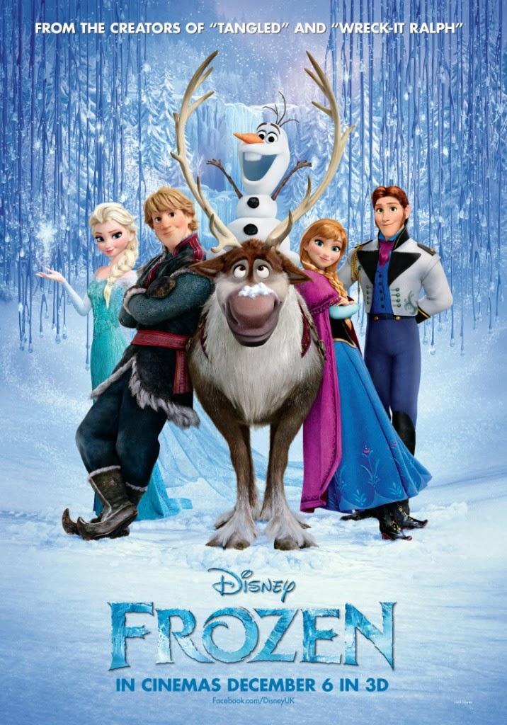 Frozen first poster