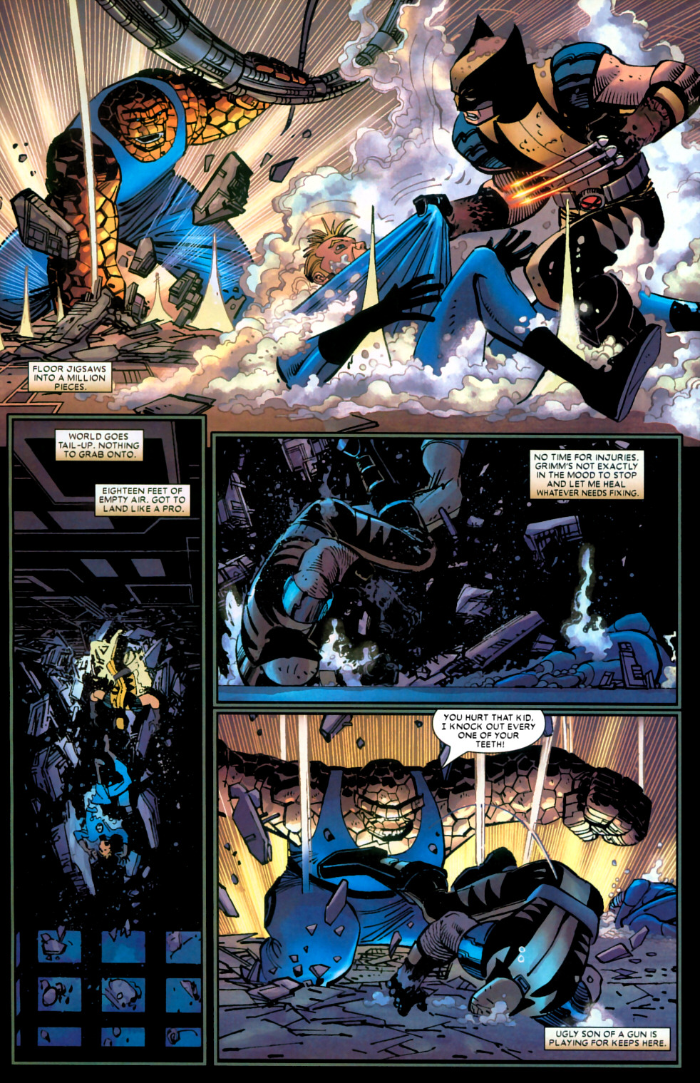 Read online Wolverine (2003) comic -  Issue #22 - 12