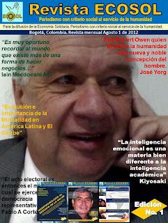 SOLDEAMÉRICA No. 01 Agosto de 2012