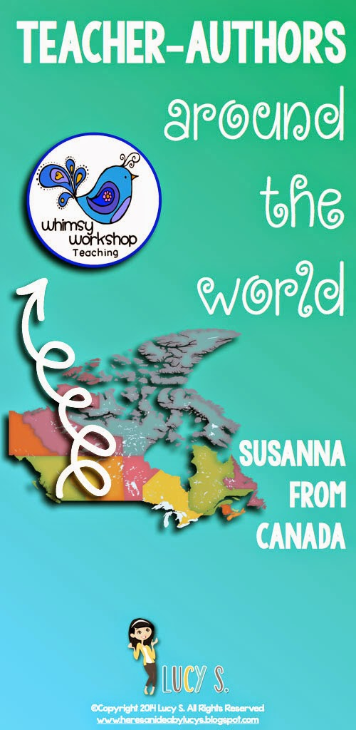 Teacher-authors around the world: meet Susanna from Canada