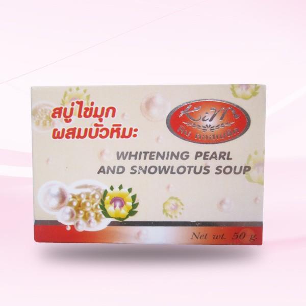 000 Whitening Pearl Snowlotus Soap