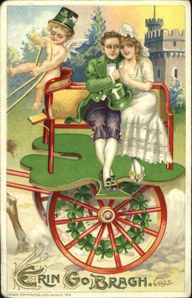 vintage postcards st