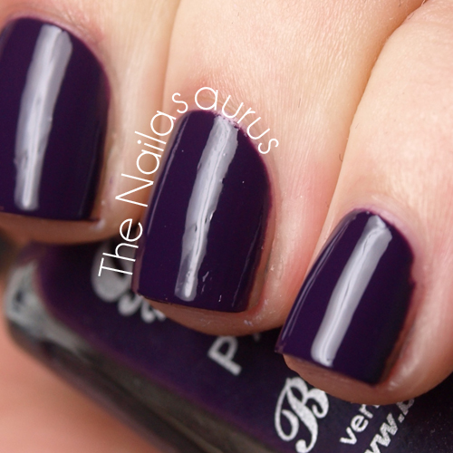 Barry M Gelly Plum Swatch
