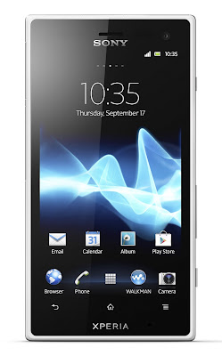 xperia acro s display white