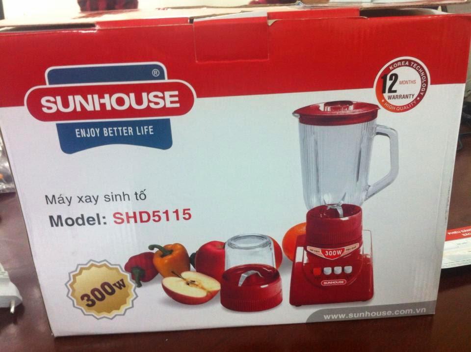 Bán máy xay sinh tố cầm tay Sunhouse Sh5115