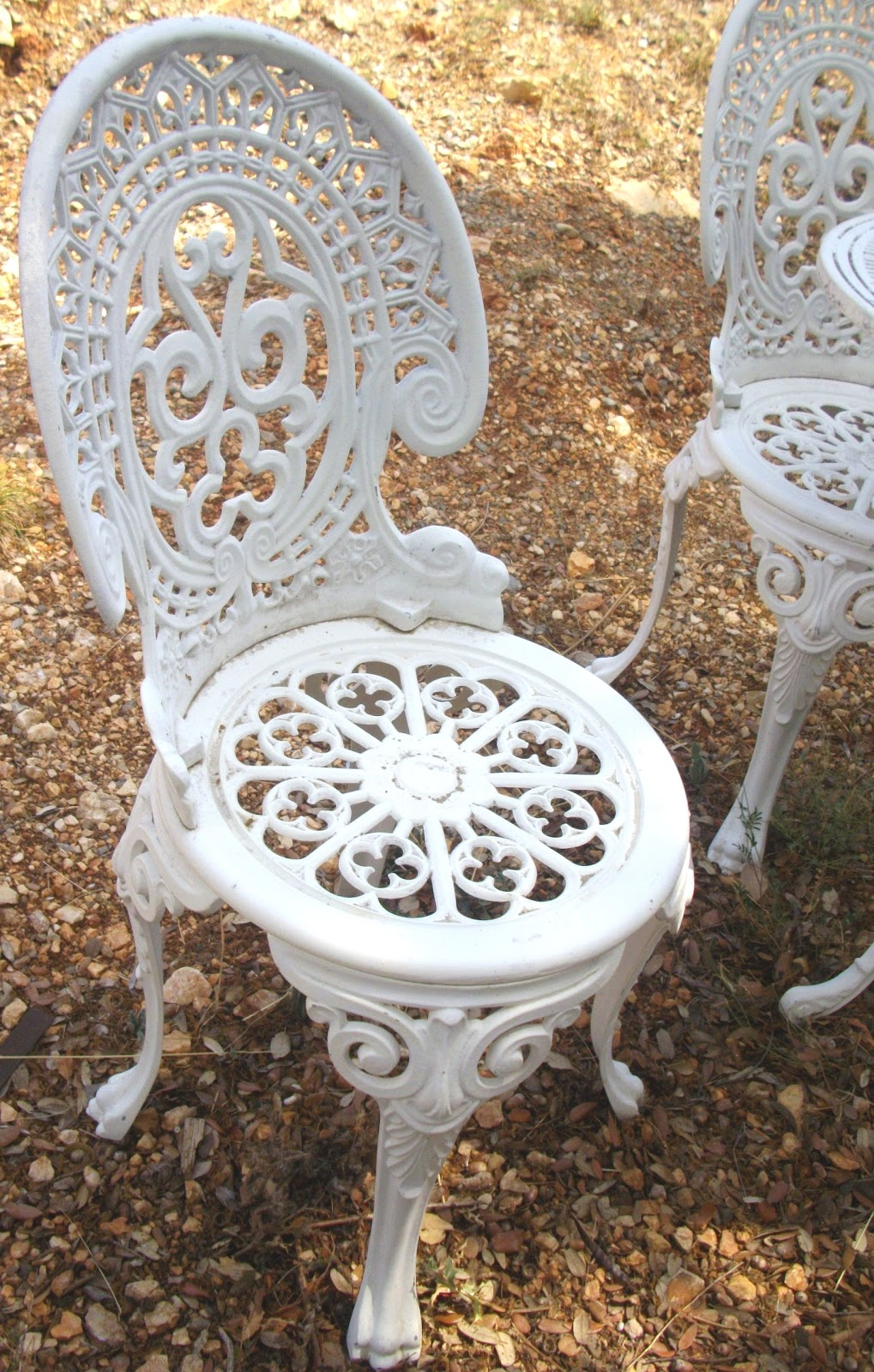 Salon De Jardin En Fonte Daluminium Blanc – Qaland.com