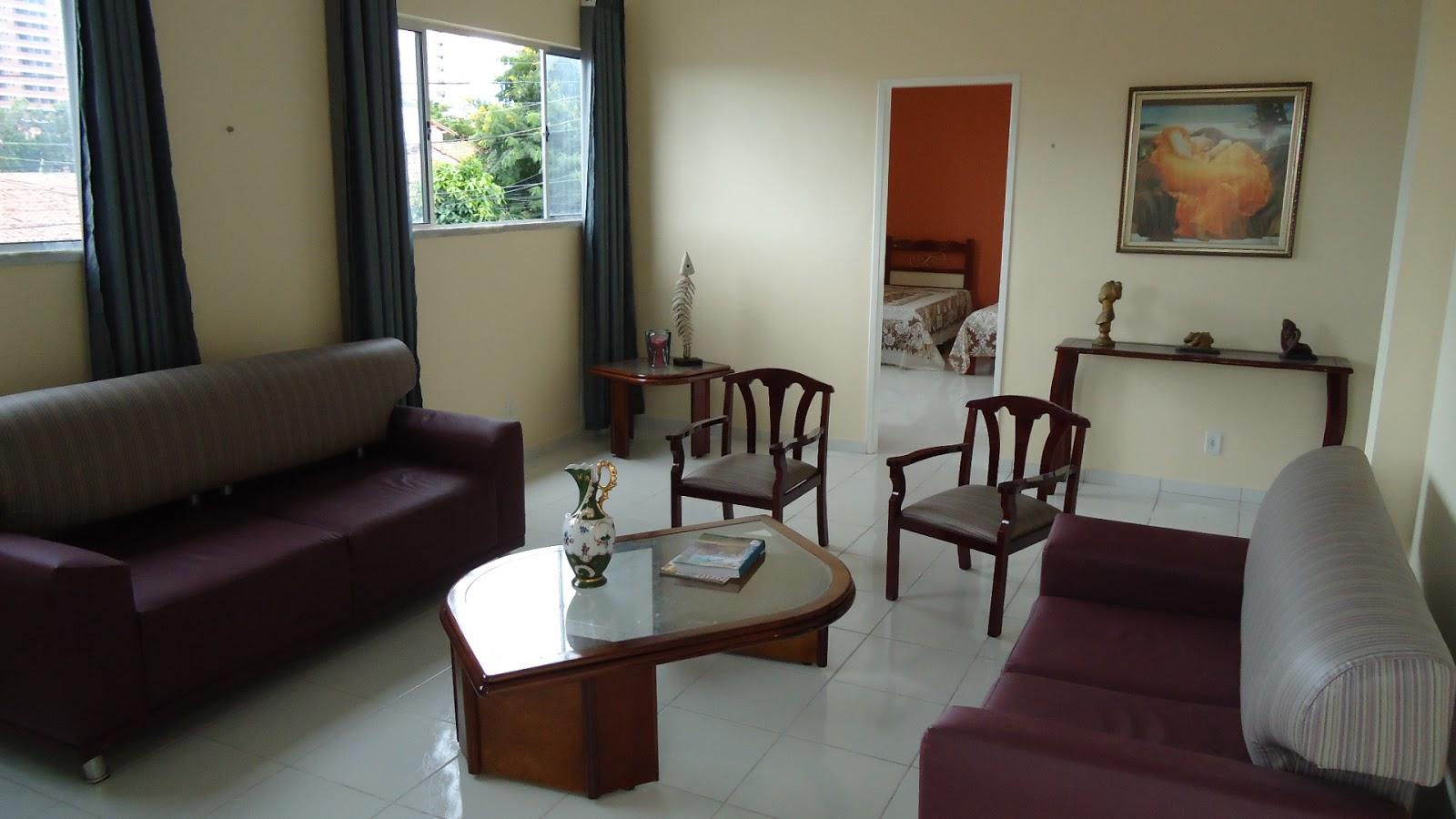 Sala de estar do Pensionato Lar das meninax - Fortaleza-CE