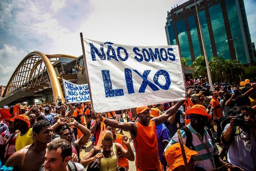 GREVE de Garis no Rio de Janeiro- veja o vídeo