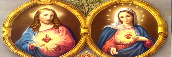 Inmaculado Corazón de María y Sagrado Corazón de Jesús