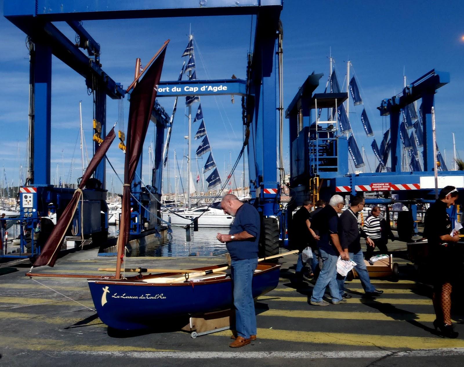 S te canal maritime montpellier croix d 39 argent salon for Salon nautique agde