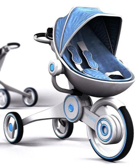 Passeggini e culle di design per il neonato