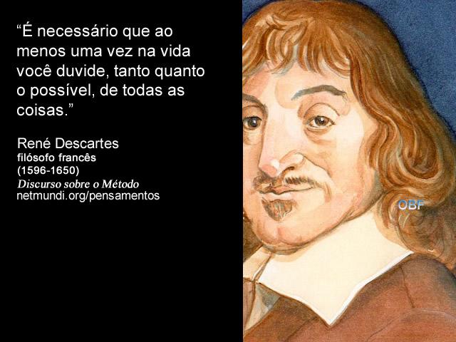 Resultado de imagem para versos de descartes René Descartes