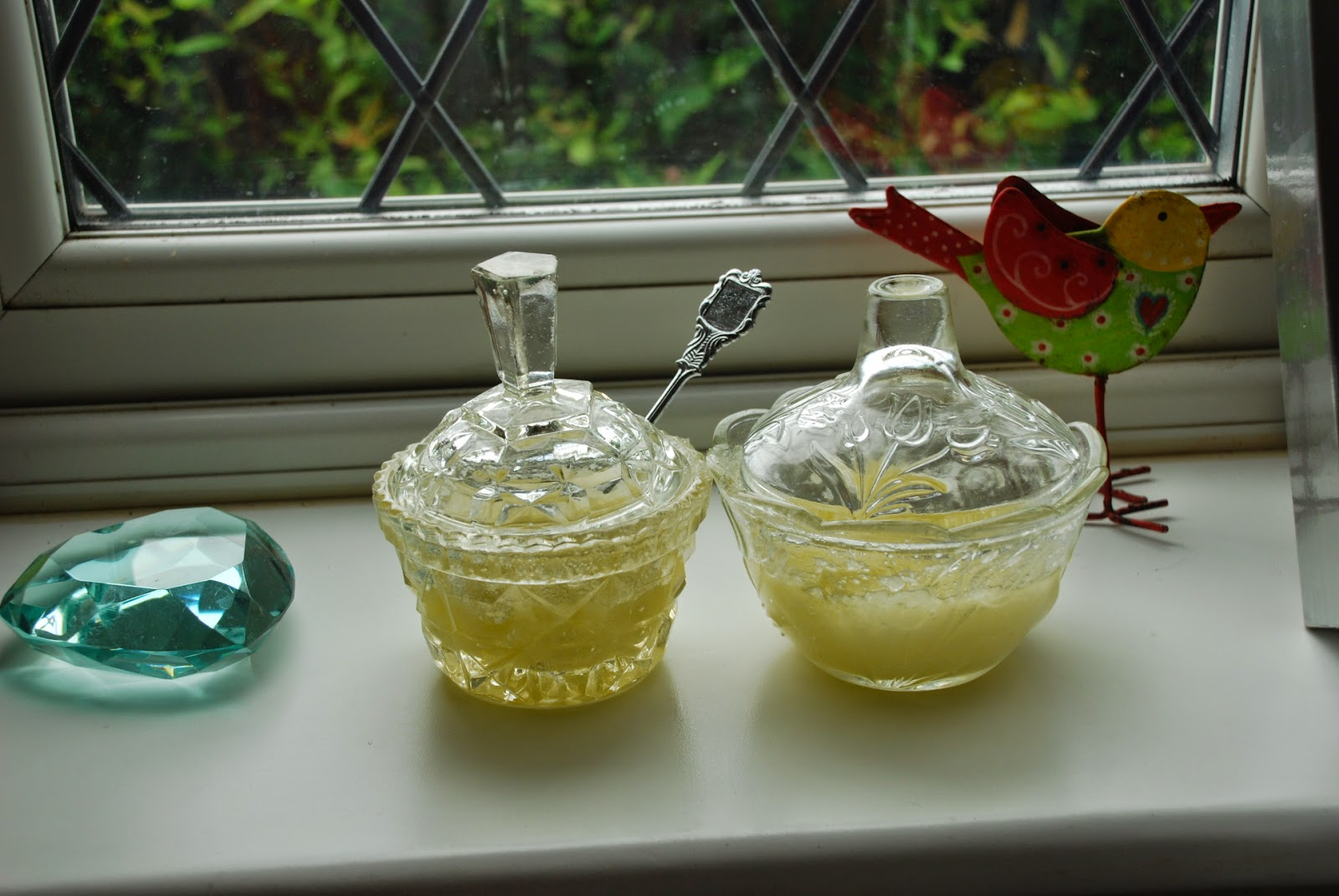 image of home made hand scrub