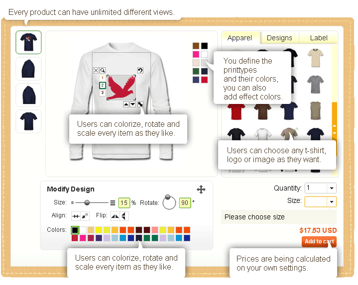 free t-shirt designing software