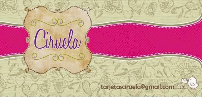 CIRUELA Tarjeteria y Cotillon personalizados
