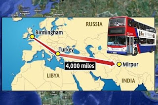 Now, a bus service from Kashmir to UK