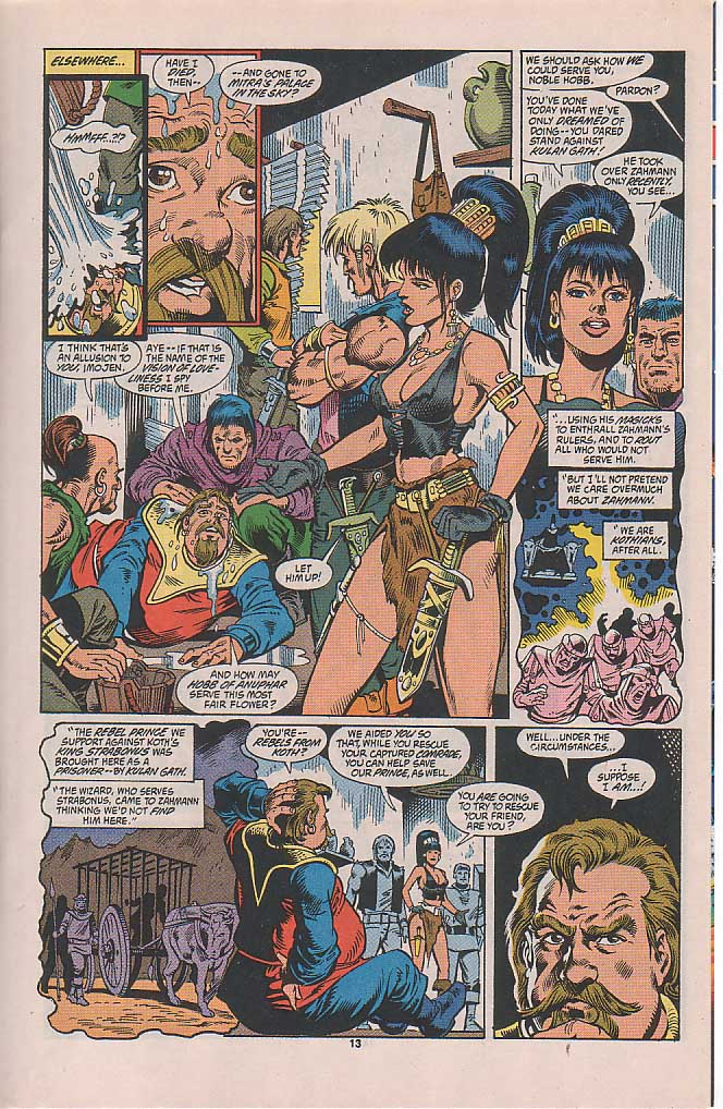 Conan the Barbarian (1970) Issue #253 #265 - English 10