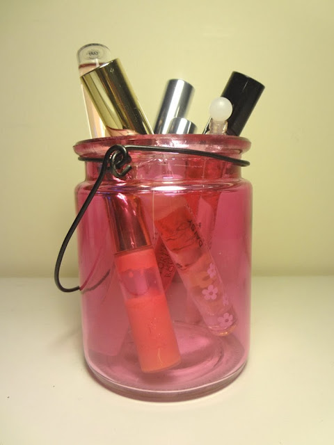 store rollerball perfume in a jar