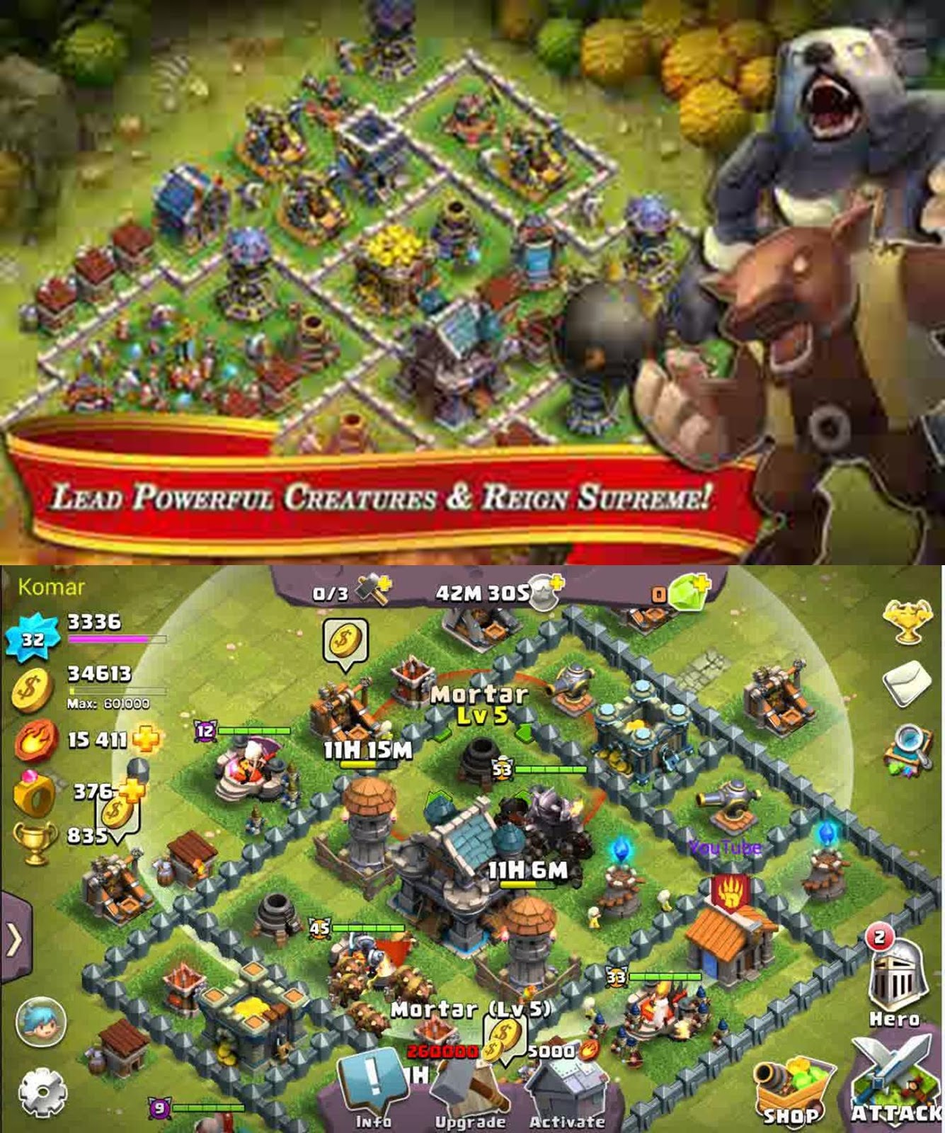clash of lord 2 hack apk download