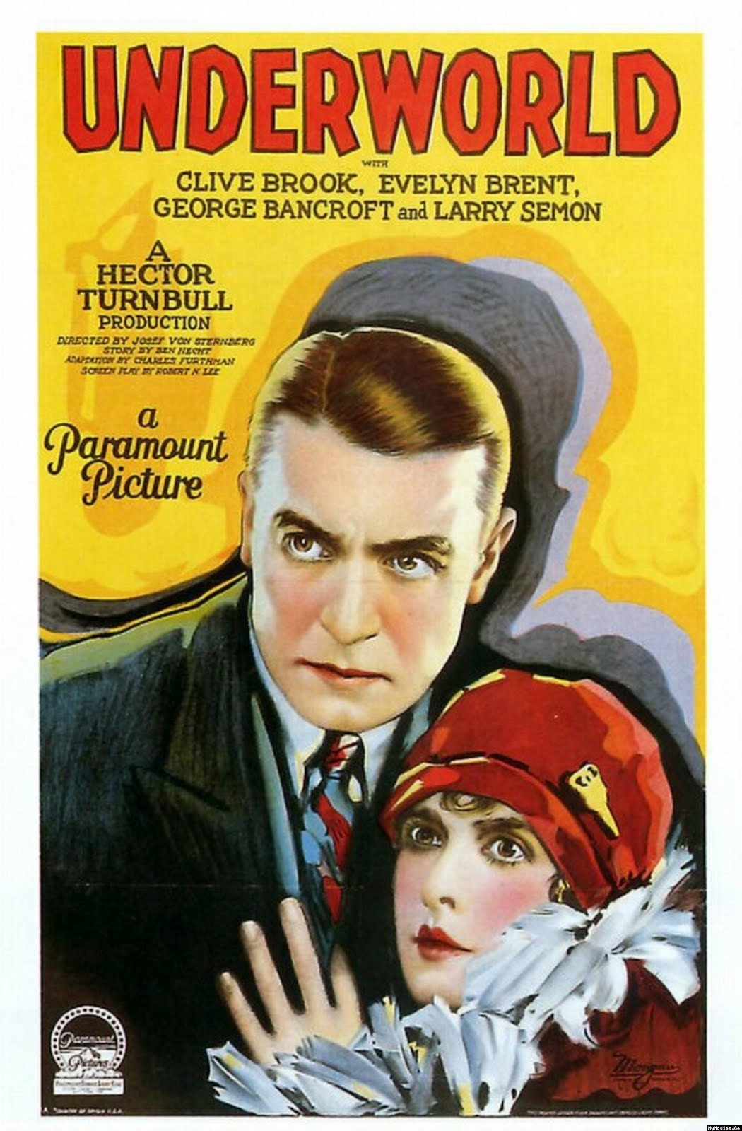 Underworld (1927 film) Jeff Rapsis Silent Film Music Coming Tuesday June 5 Underworld