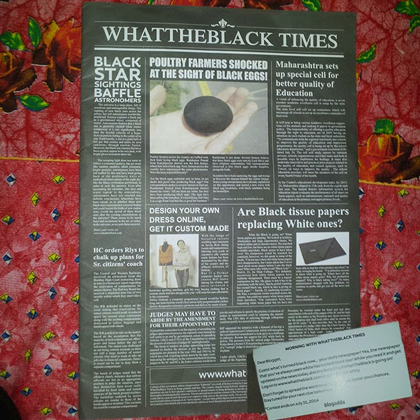 WhatTheBlack Times: Day 2 of What theBlack Activity