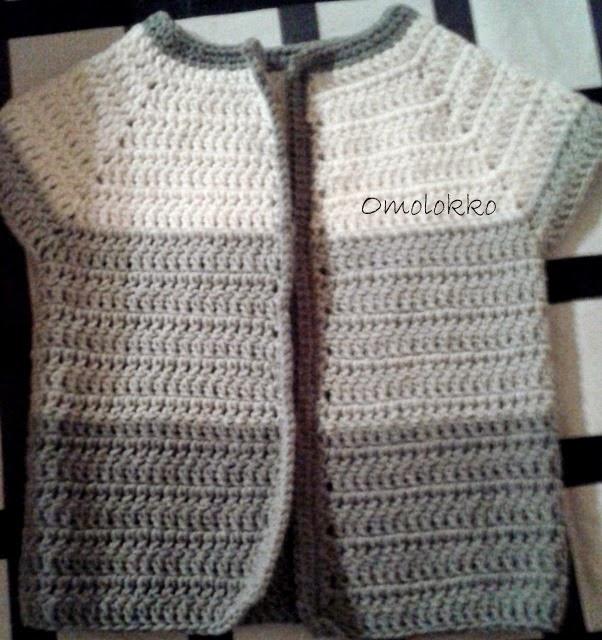Little crochet vest / maleńka szydełkowa kamizelka