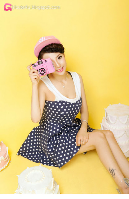 3 Lan Qi - pretty sweet fashion dress - very cute asian girl - girlcute4u.blogspot.com