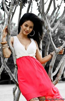 Sarah Gurung Beautiful Nepali Model
