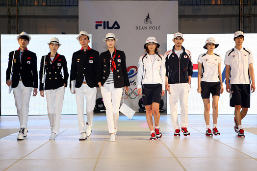South Korea olympic sailing team uniform