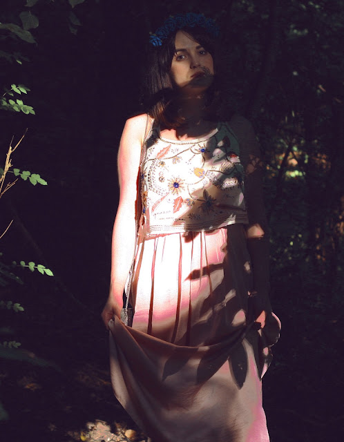 art nouveau, shadow photography, fashion photography, shadow refected on garments