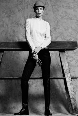 Massimo Dutti The Equestrian Collection moda ecuestre para mujer botas hípicas comprar tienda