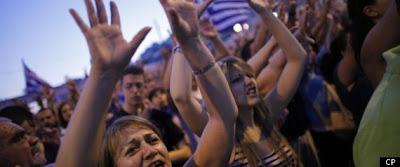 Greece Confidence Vote