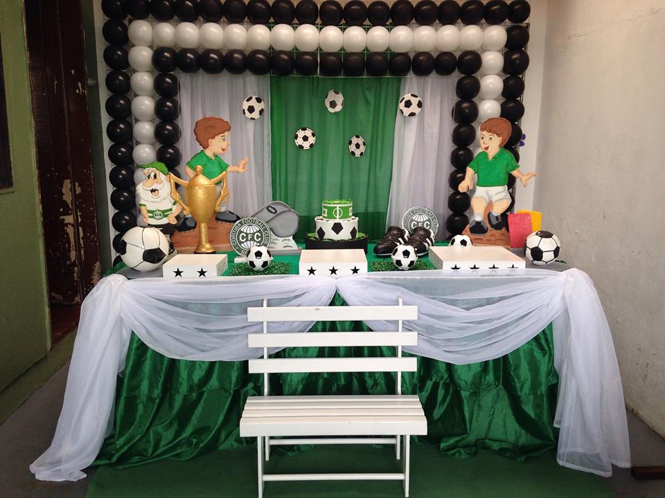 decoração de time do Coxa