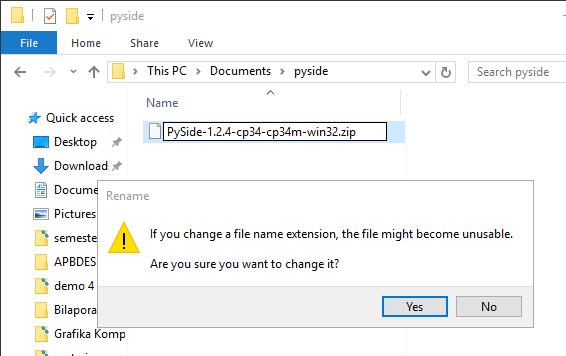 Cara Install Pyside Di Python 3 Dan 2 Belajar Python
