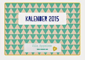 VILLA APPELZEE KALENDER 2015
