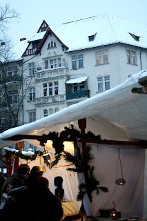 Marché de noël sur la Richardplatz - Berlin