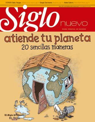 Participación en portada e interiores. Torreón Agosto 2010